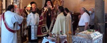 Εορτάσθηκε η ανακομιδή των Ιερών Λειψάνων της πολιούχου Άρτης Οσίας Θεοδώρας