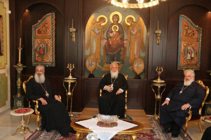 Οι Μητροπολίτες Λήμνου και Αλεξανδρουπόλεως στον Διδυμοτείχου Δαμασκηνό