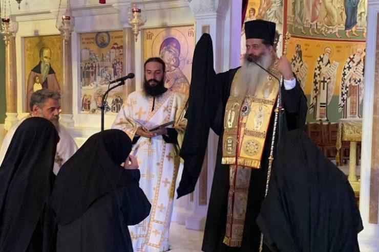 Ένα νέο μέλος στην Αδελφότητα της Ιερά Μονή Παντοκράτορος ΤΑΩ Πεντέλης