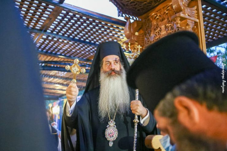 Φθιώτιδος Συμεών: Να ζητήσουμε από την Αγία Παρασκευή πνευματικό φως