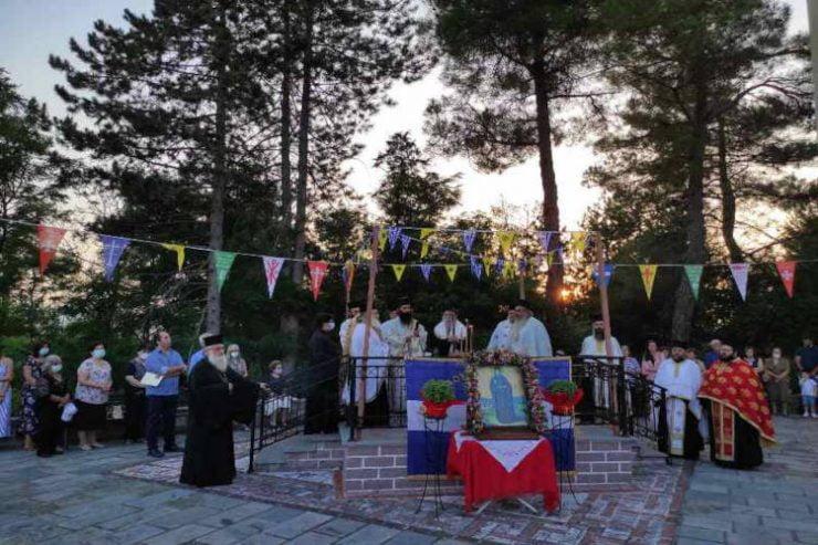 Εορτή Αγίας Οσιομάρτυρος Παρασκευής στη Μητρόπολη Γρεβενών
