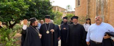 Πρώτη επίσκεψη του Γέροντος Χαλκηδόνος στην Κρήτη