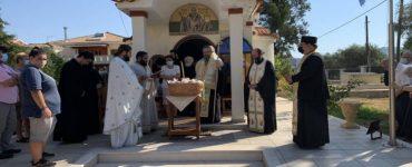 Εορτή Οσίου Θεοφίλου του Μυροβλύτου στη Λευκάδα