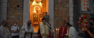 Εορτή της Αγίας Μαρκέλλας στη Μητρόπολη Μάνης