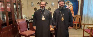 Ο Επίσκοπος Χριστουπόλεως Εμμανουήλ στη Μητρόπολη Μαρωνείας