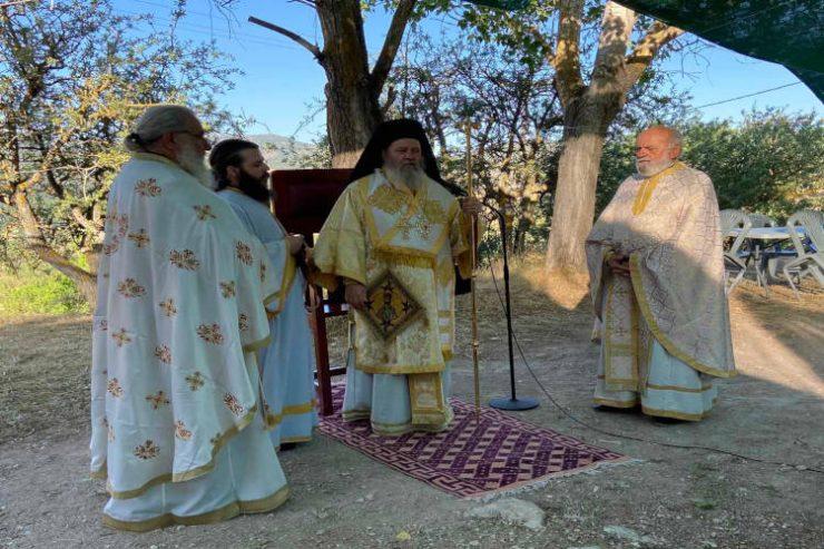 Στο «πάτημα» του Αγίου Αποστόλου Ανδρέου στο Λεόντιο Πατρών