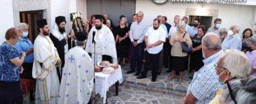 Τα Θυρανοίξια του Ιερού Ναού Αγίου Ιωάννου του Θεολόγου Ζενίων