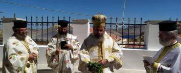 Εγκαίνια Κωδωνοστασίου Αγίου Παντελεήμονος Σύμης