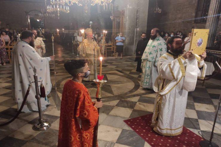 Εορτή Οσίου Παϊσίου του Αγιορείτου στη Μητρόπολη Χαλκίδος
