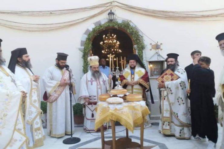Η Εορτή της Αγίας Μαρκέλλης της Χιοπολίτιδος στον τόπο του μαρτυρίου της