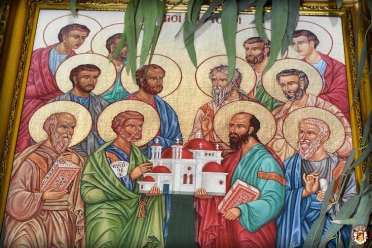 Η Εορτή της Συνάξεως των Αγίων Δώδεκα Αποστόλων στο Πατριαρχείο Ιεροσολύμων