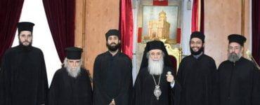 Ευλογία ράσων νέων δοκίμων στο Πατριαρχείο Ιεροσολύμων