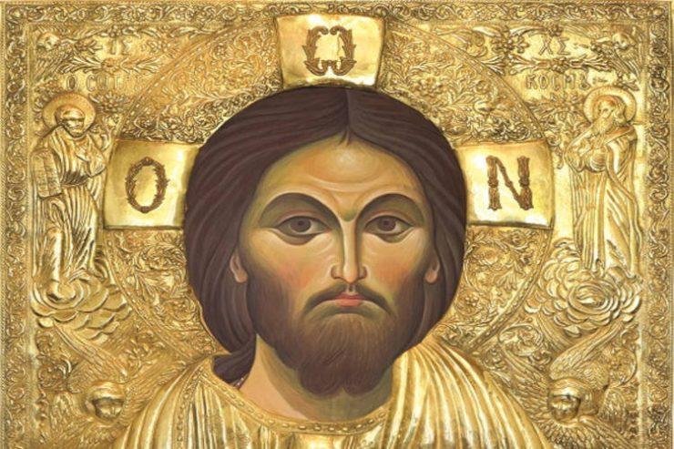Μεταφορά αντιγράφου της εικόνας του Χρυσοσώτηρος της «Ακανθούς»