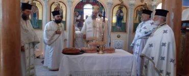 Εορτή Οσίας Ειρήνης της Χρυσοβαλάντου στη Μητρόπολη Θεσσαλιώτιδος