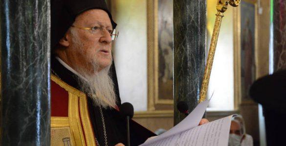 Οικουμενικός Πατριάρχης: Η μεγαλυτέρα δύναμις της Εκκλησίας είναι ο Κύριος ημών Ιησούς Χριστός Συμπαράσταση του Οικουμενικού Πατριάρχου προς τους πολίτες που δοκιμάζονται από τη φωτιά στη Βαρυμπόμπη