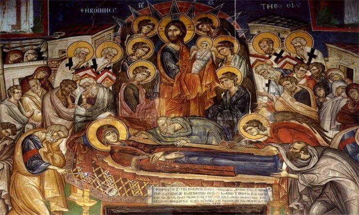 15 Αυγούστου: Κοίμηση της Θεοτόκου Αγρυπνία Αποδόσεως Κοιμήσεως της Θεοτόκου στα Τρίκαλα