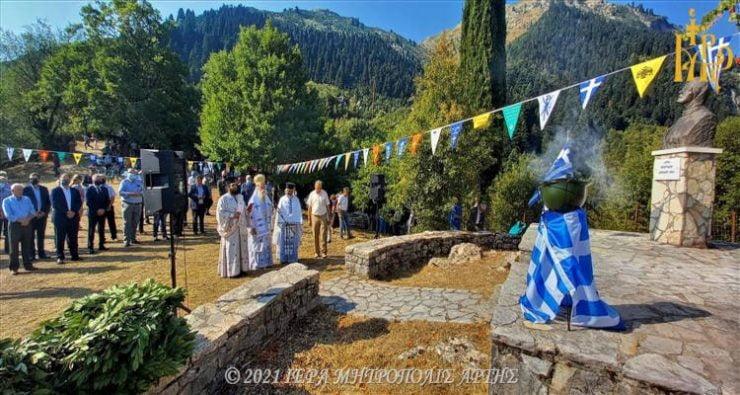 Λαμπρά εορτάστηκε η Απόδοση της Κοιμήσεως της Θεοτόκου στην Ιερά Μονή Σέλτσου