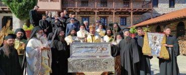 Λαμπρός εορτασμός του Οσίου Νικάνορος στην Ιερά Μονή Ζάβορδας