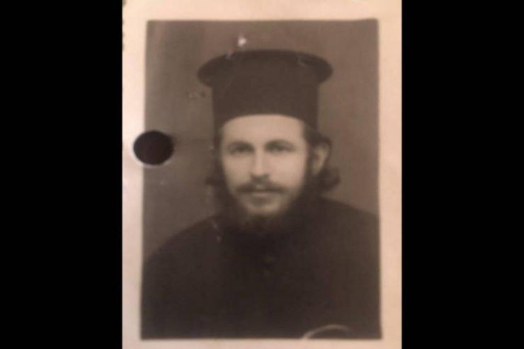 Εκοιμήθη σήμερα ανήμερα της Κοιμήσεως της Θεοτόκου ο ιερέας Χρυσόστομος Καλύβας