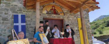 Θυρανοίξια Ιερού Ναού Αγίας Παρασκευής στη Γράμμουστα (ΦΩΤΟ)