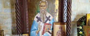 Η Εορτή του Αγίου ιερομάρτυρος Ευτυχούς στη Μητρόπολη Πέτρας