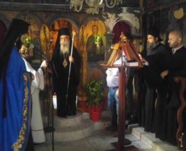 Ενθρόνιση Ηγουμένου στην Ιερά Μονή Παναγίας Ελεούσης Κούμπαρη