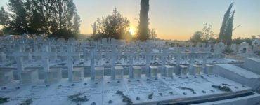 Τρισάγιο Πεσόντων της Τουρκικής Εισβολής στο Στρατιωτικό Κοιμητήριο Λακατάμιας