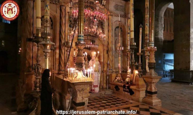 Εορτή Αγίας Μαρίας Μαγδαληνής και Αγίας Μαρκέλλας Χιοπολίτιδος στο Πατριαρχείο Ιεροσολύμων