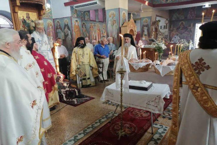 Εορτή Αγίου Καλλινίκου στη Μητρόπολη Αιτωλίας