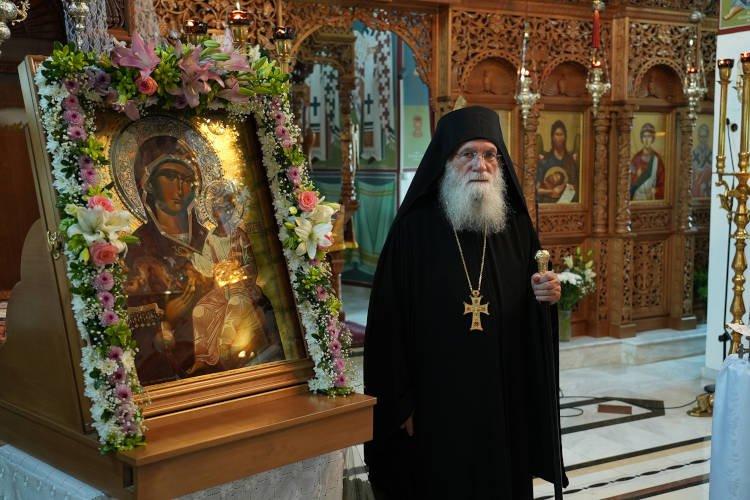 Η εορτή της Απόδοσης Κοιμήσεως της Θεοτόκου στην Ιερά Μονή Παναγίας Κουτσουριωτίσσης