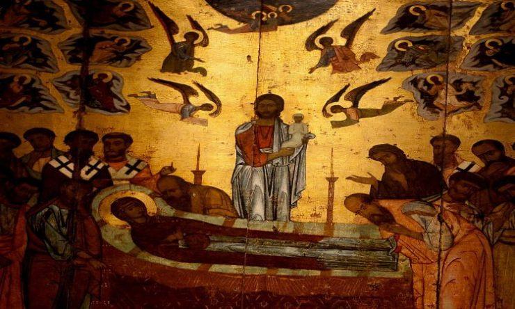 Προεόρτιος Αγρυπνία για την εορτή της Κοιμήσεως της Θεοτόκου στην Καλογραίζα Απόδοση Εορτής Κοιμήσεως της Θεοτόκου