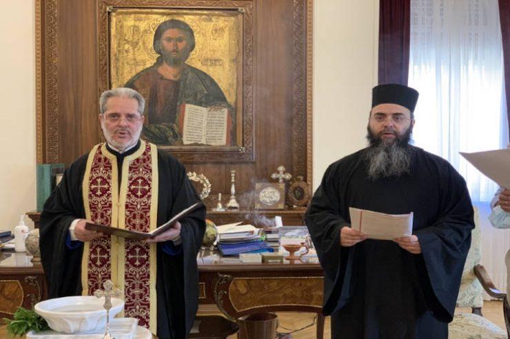 Αγιασμός στην Αρχιεπισκοπή Κύπρου για την Έναρξη του Νέου Εκκλησιαστικού Έτους