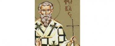 Εορτή Αγίου Φωκά Ιερομάρτυρα του Θαυματουργού