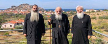 Επίσκεψη Αρχιεπισκόπου στην Λήμνο