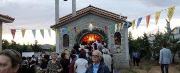 Εγκαινιάζεται ο Ιερός Ναός του Αγίου Λουκά του Ιατρού στο Διμήνι