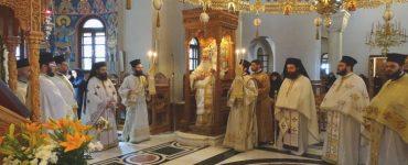 Με λιτή μεγαλοπρέπεια εορτάστηκε το Εν Χώναις Θαύμα στην Μονή Ταξιαρχών Πηλίου