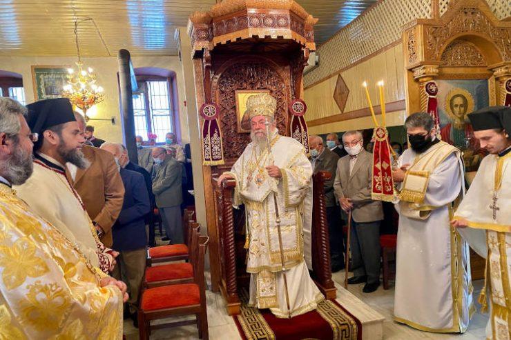 Η Εορτή των Αγίων Θεοπατόρων Ιωακείμ και Άννης στη Μητρόπολη Ελευθερουπόλεως