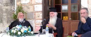 Ο Μητροπολίτης Μεσογαίας στην Κέρκυρα