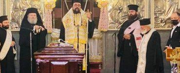 Τελέσθηκε Τρισάγιο για τον Μίκη Θεοδωράκη στα Χανιά