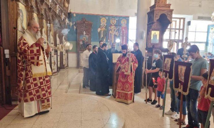 Εορτή Αγίου Μάμαντος στη Μητρόπολη Λεμεσού