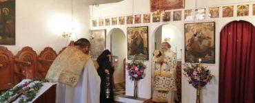 Εορτή του Αγίου Ευσταθίου στη Μητρόπολη Μάνης