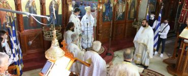 Εορτασμός Ανακομιδής Λειψάνων Αγίου Δονάτου στη Μητρόπολη Παραμυθίας