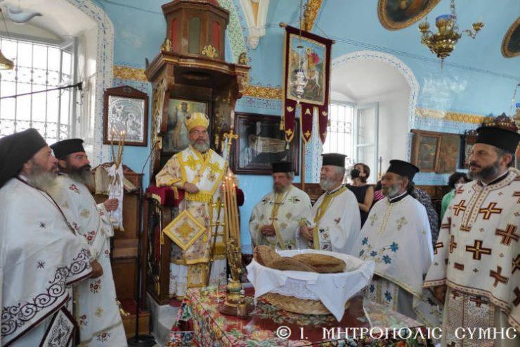 Εορτασμός Μετακομιδής Ιερού Λειψάνου του Οσίου Ιωσήφ Γεροντογιάννη στη Σύμη