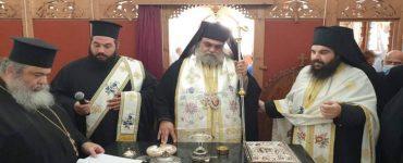 Εγκαίνια ιερού Παρεκκλησίου του Αποστόλου Ανδρέου στο Παλαιομέτοχο