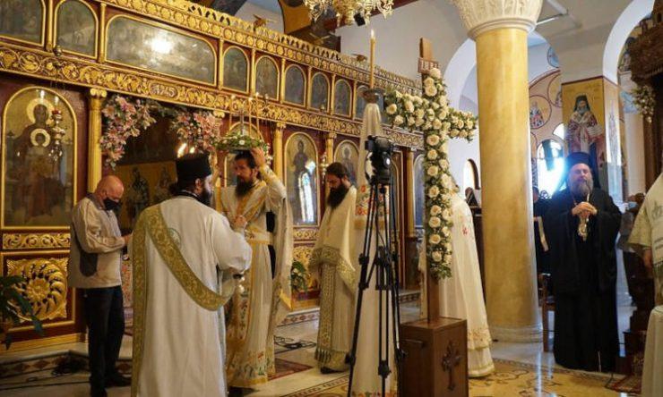 Εορτή Υψώσεως του Τιμίου και Ζωοποιού Σταυρού στη Μητρόπολη Τρίκκης