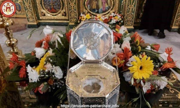 Η μνήμη της Αποτομής της Κεφαλής του Τιμίου Προδρόμου στο Πατριαρχείο Ιεροσολύμων