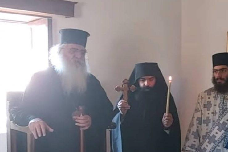 Ακολουθία Ρασοευχής Ευμενίου Μοναχού στη Μητρόπολη Μόρφου (ΒΙΝΤΕΟ)