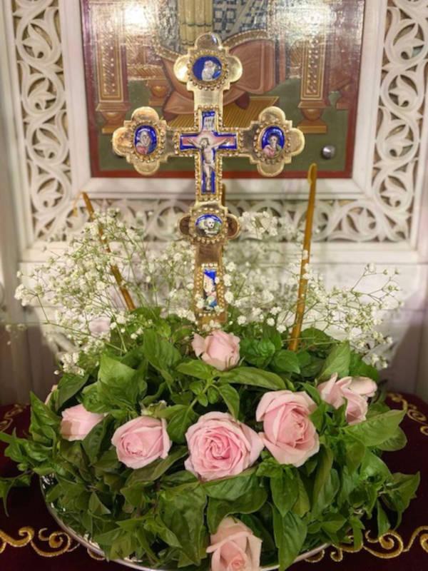 Η εορτή της Υψώσεως του Τιμίου Σταυρού στη Νέα Ιωνία