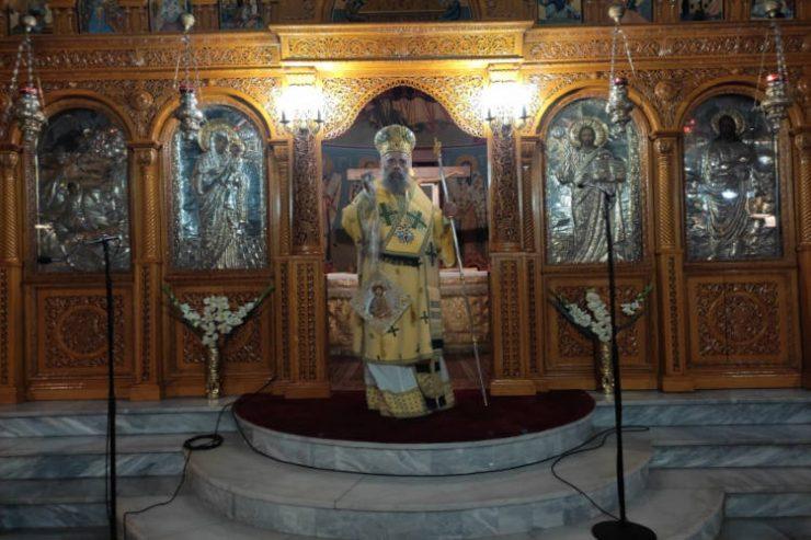Αγρυπνία επί τη ενάρξει του νέου εκκλησιαστικού έτους στη Μητρόπολη Θεσσαλιώτιδος