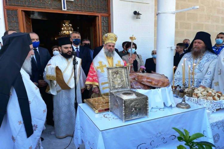 Εορτή αγίου ιερομάρτυρος Σεραφείμ αρχιεπισκόπου Φαναρίου στο Φανάρι Καρδίτσης